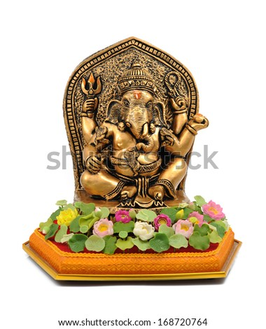 Ganesha from copper