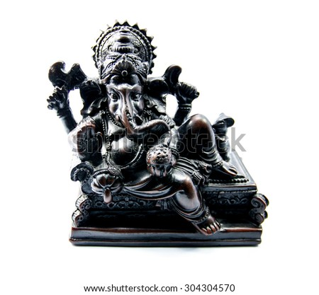 Ganesha: Lord of Success. - stock photo