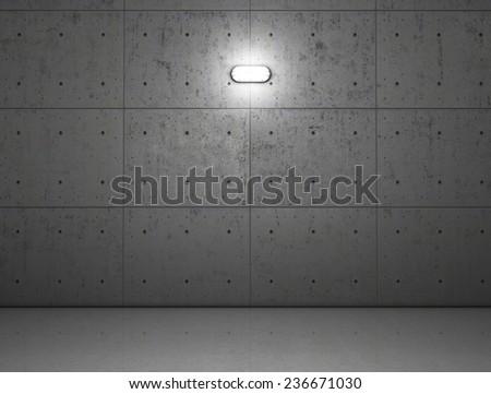 Fertiggarage beton  Garage Building Made Concrete Roller Shutter Stock Illustration ...