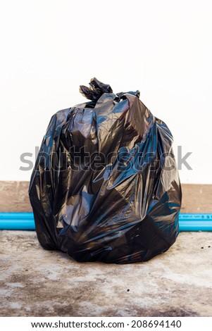 Garbage bag - stock photo