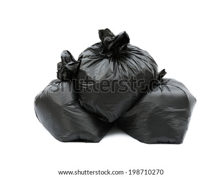 Garbage bags - stock photo