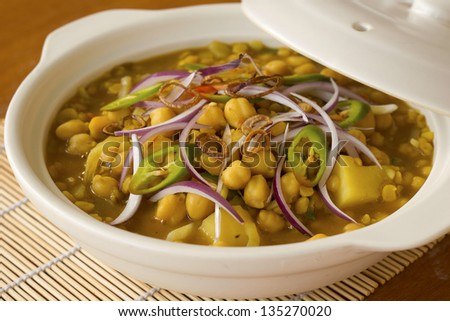 Garbanzo Bean Masala - stock photo