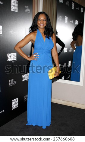Garcelle Beauvais at the Los Angeles Gay & Lesbian Center Honors Rachel Zoe held at the Sunset Tower Hotel, California, United States on January 23, 2012.  - stock photo