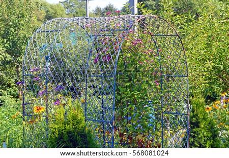 Garden Arch Stock Images RoyaltyFree Images Vectors Shutterstock