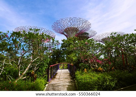 Garden By The Bay Entrance artorn thongtukit's portfolio on shutterstock