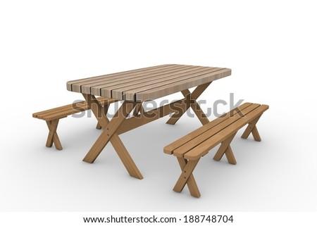 Garden furniture - stock photo