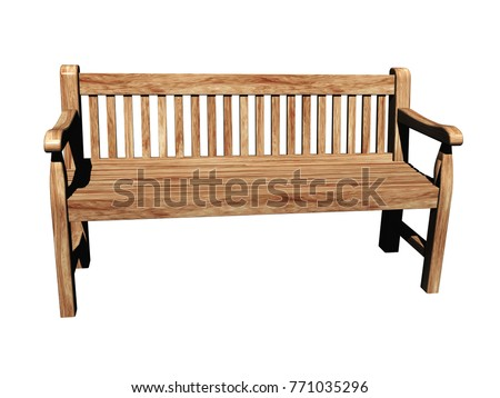 garden furniture 3d rendering - Garden Furniture 3d