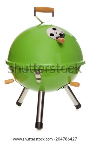 Garden grill isolated on white background