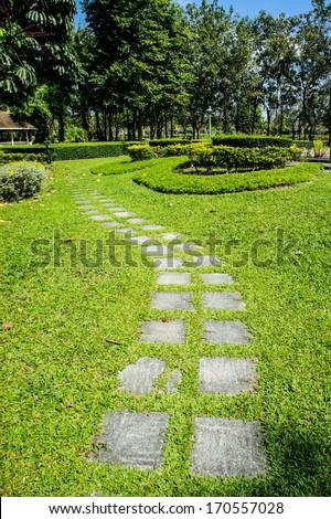 garden park - stock photo