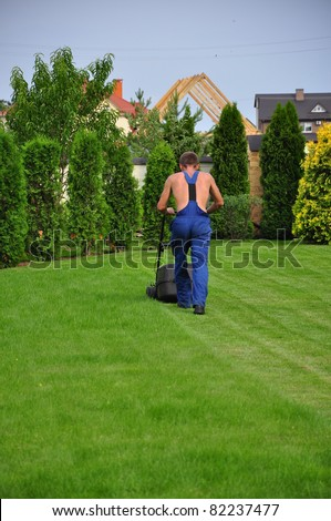gardener - stock photo