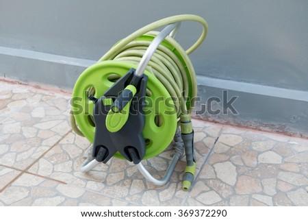 Gardening hose - stock photo
