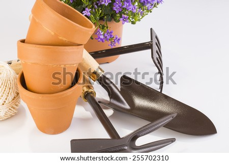 gardening tool - stock photo
