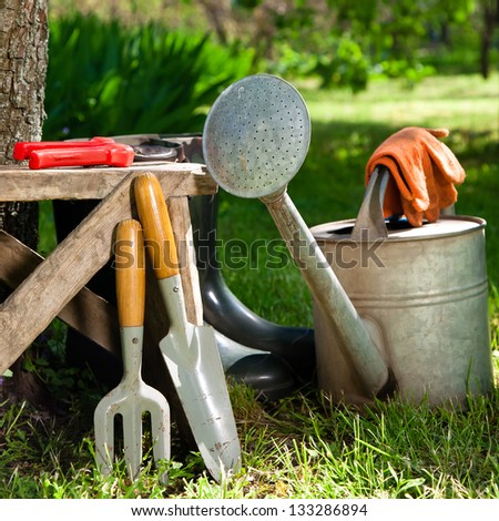 Garden Stock Images Royalty Free Images Vectors