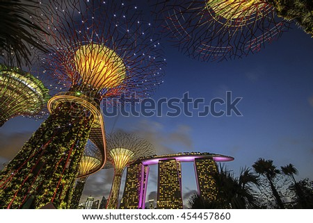 Gardens By The Bay Is A Nature Park Spanning 101 Hectares Of Reclaimed Land  In Central