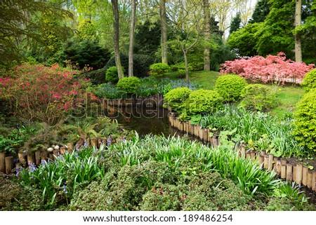Gardens, Netherlands - stock photo