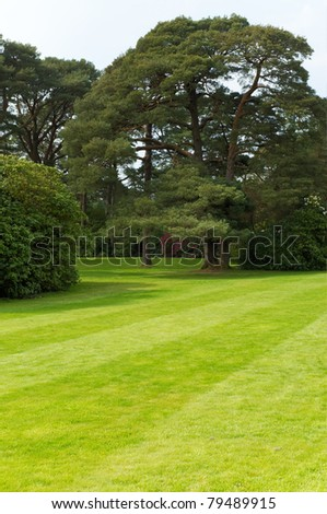 Gardens of Mucross Estate, Ireland - stock photo