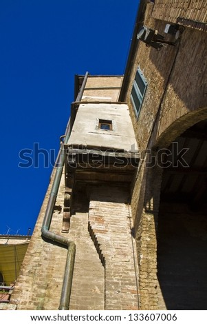 Garderobe Medieval Toilet Siena Italy Stock Photo Royalty Free
