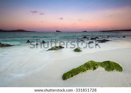 Gardner Bay, Galapagos Islands, Ecuador - stock photo