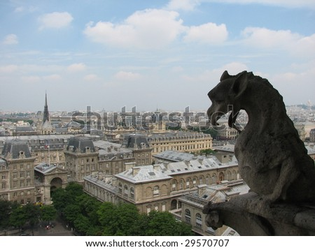 gargoyle from the top