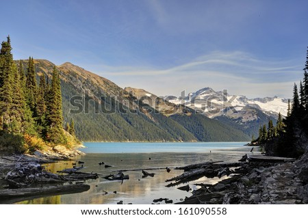 Garibaldi Lake, British Columbia - stock photo