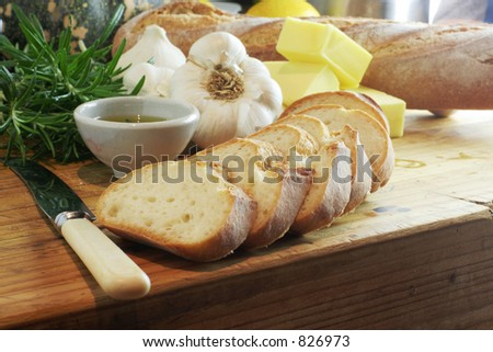 Garlic Bread landscape