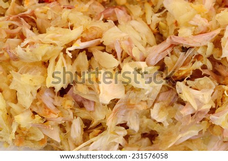 Garlic for texture background - stock photo
