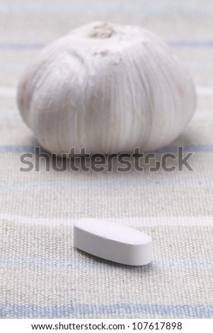 Garlic/pill