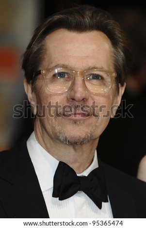 Gary Oldman arriving for the BAFTA Film Awards 2012 at the Royal Opera House, Covent Garden, London. 12/02/2012  Picture by: Steve Vas / Featureflash