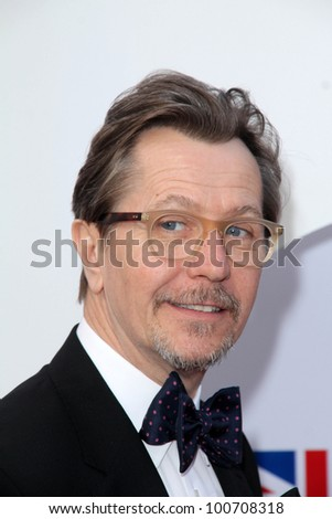 Gary Oldman at GREAT Global Initiative Honors British Nominees Of The 84th Annual Academy Awards, British Consul General Residence, Los Angeles, CA 02-24-12 - stock photo