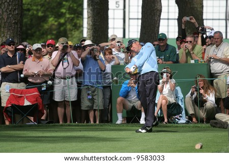 Gary Player  Augusta Masters of golf 2006, Georgia,