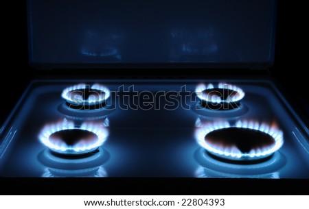 Gas - stock photo