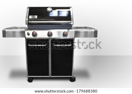 Gas Grill - stock photo