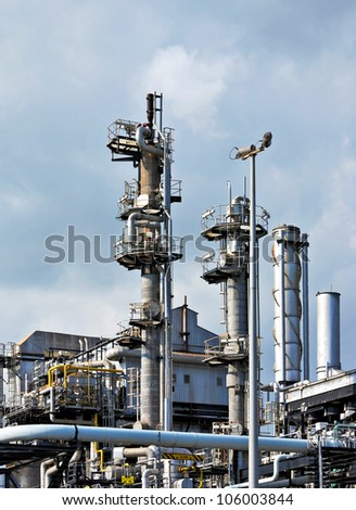 Gas industry - stock photo