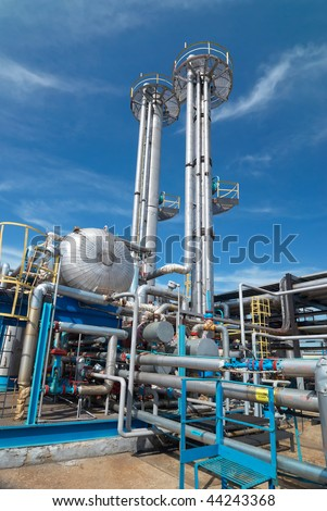 Gas industry. sulfur-refinement