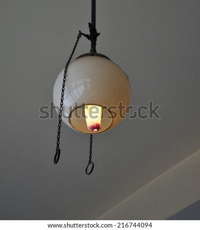 Gas Lamp - stock photo