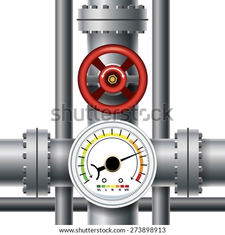 gas manometer. gas pipe valve, pressure meter. transit and industrial manometer, control measurement manometer t