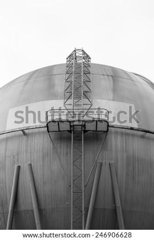 Gas Storage Ball - stock photo