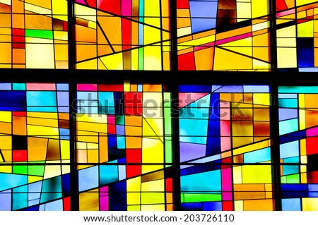 Modern Stained Glass Stock Images Royalty Free Images