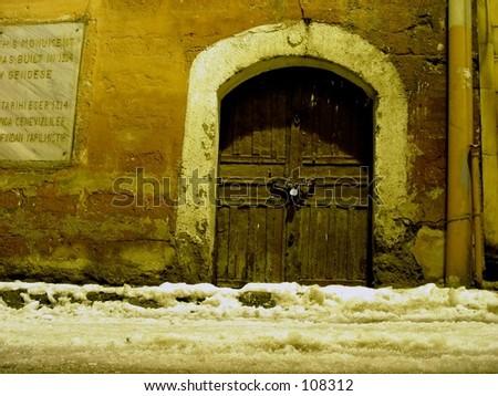 gate - stock photo