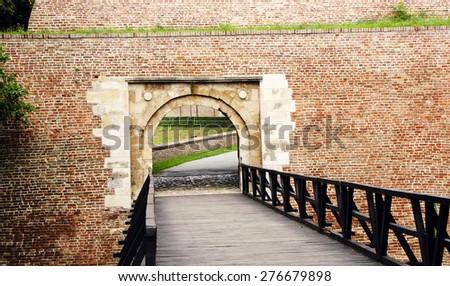 Gate Kalemegdan - stock photo