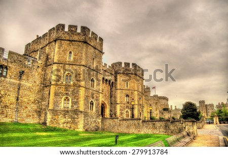 Gate of Windsor Castle - England, Great Britain