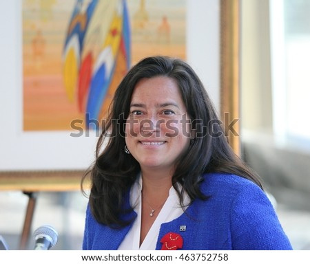 GATINEAU, QUE.- AUGUST 3, 2016: Jody Wilson-Raybould is Minister of Justice and Attorney General of Canada.