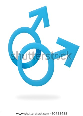 Gay Male Symbol Stock Illustration 60953488 Shutterstock