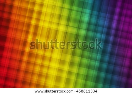 Gay pride colors blend to create abstract background - stock photo