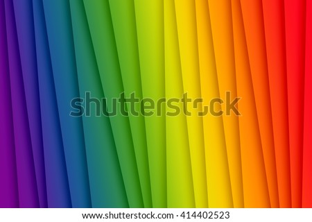 Gay pride flag colors used to create abstract background