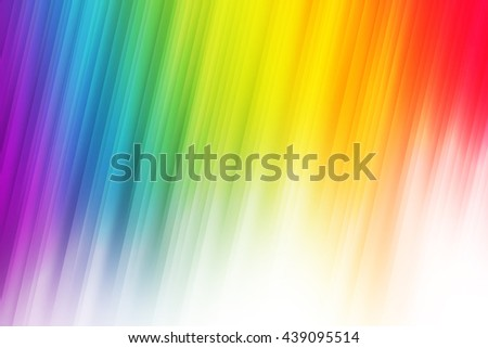 Gay pride rainbow light ray abstract background - stock photo
