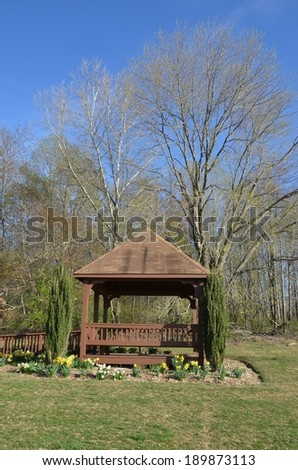 Gazebo in Germantown, MD USA