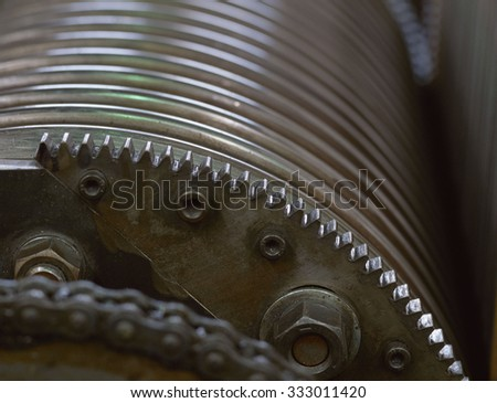 gear - stock photo