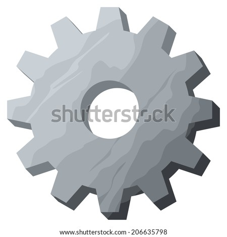 gear (cog) - stock photo