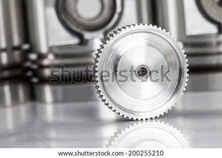 gears industry - stock photo